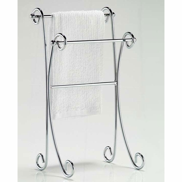 Two Tier Curled  CountertopTowel Stand