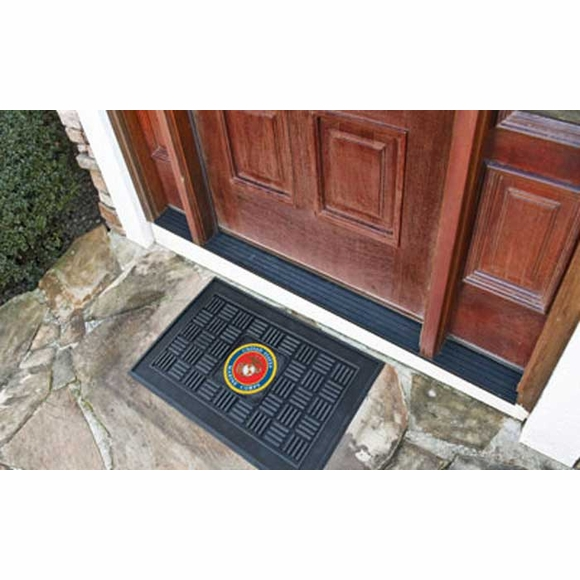 U.S. Military Medallion Door Mat - Army, Navy, Air Force, Marines, Coast Guard