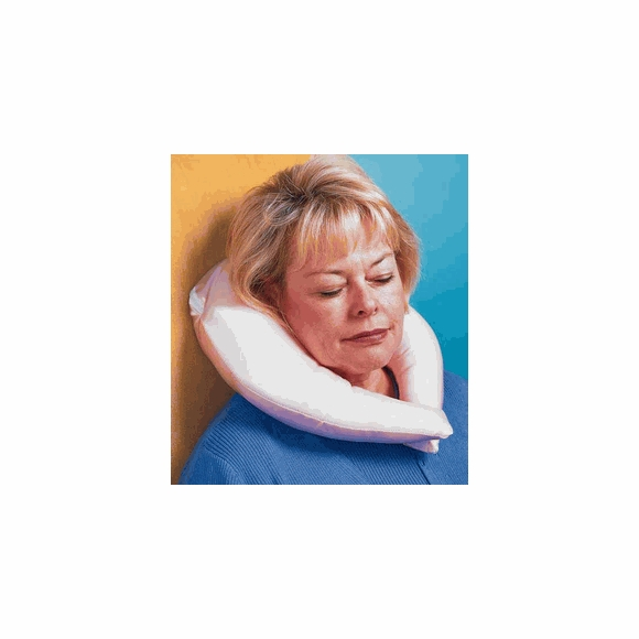 U Shape Neck Pillow With Satin Cover