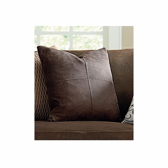 Ultimate Heavyweight Stretch Faux Leather Pillow