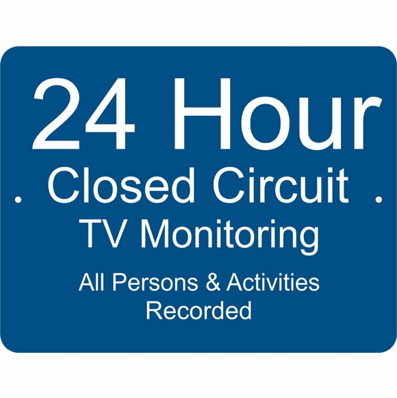 Custom Under Video Surveillance Camera Sign All Activities Monitored and Recorded