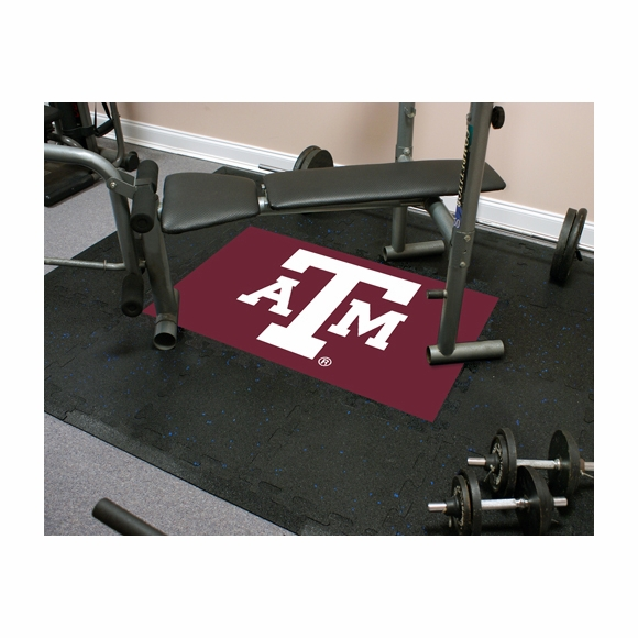 Virginia Tech Team Tile Floor Mat