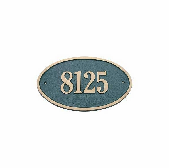Wall Address Plaque