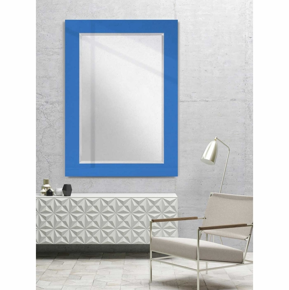 Wall Mirror with Any Pantone® Color Border