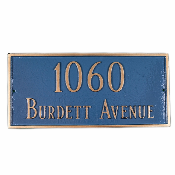 Wall Mount Address Sign