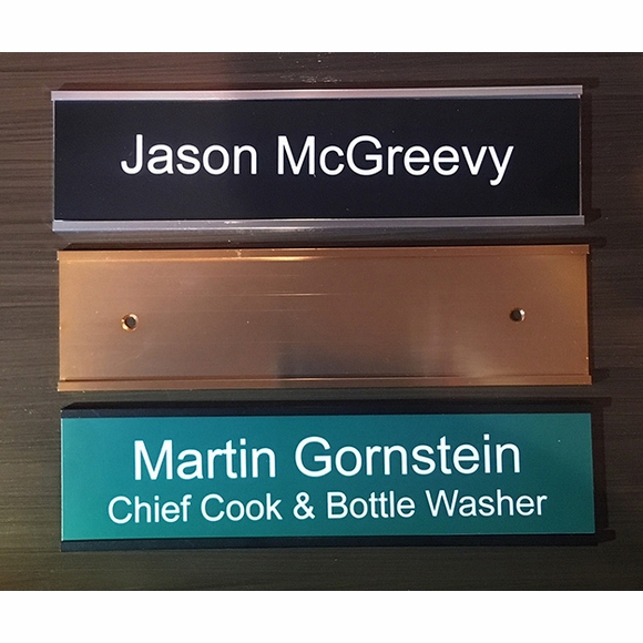 Wall Mount for Name Plate or Identification Tag