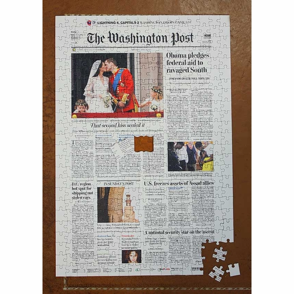 Washington Post Jigsaw Puzzle