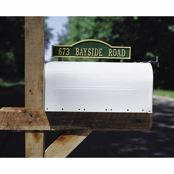 Mailbox Address Marker - Mailbox Topper House Number Sign