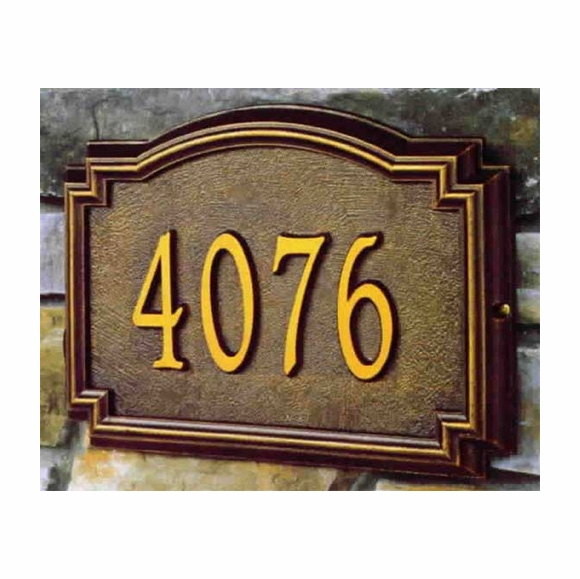 Whitehall Williamsburg Classic Address Plaque