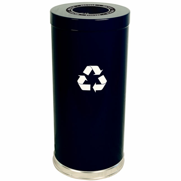Witt 15RTBK-1H Black Recycling Container