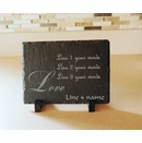Write Your Own Love Plaque Customized with Your Own Wording