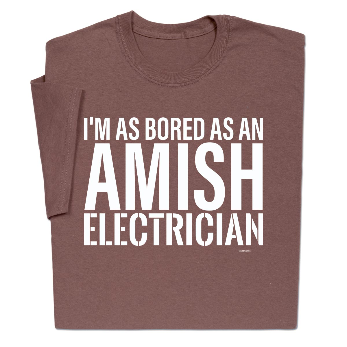 Amish Electrician Funny T Shirt For Men Women
