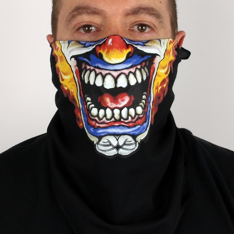 Clown Bandana Mask
