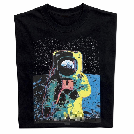 Colorful Astronaut T-shirt
