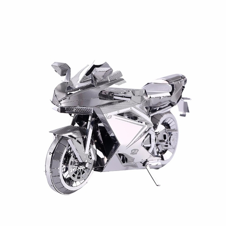 Cool Metal Motorcycle Puzzle