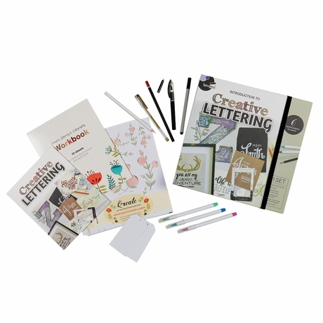 Learn Creative Lettering Kit- BACKORDERED UNTIL SUMMER 2021