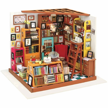 DIY Miniature Bookstore Kit Ages 14+