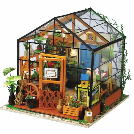 Home School Kids Activities DIY Miniature Green House Science Kit Ages 14+