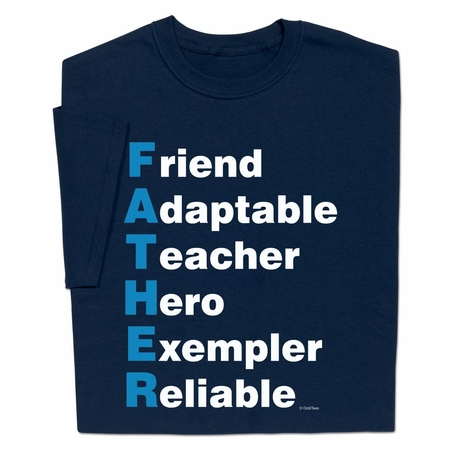 Father Qualities T-shirt