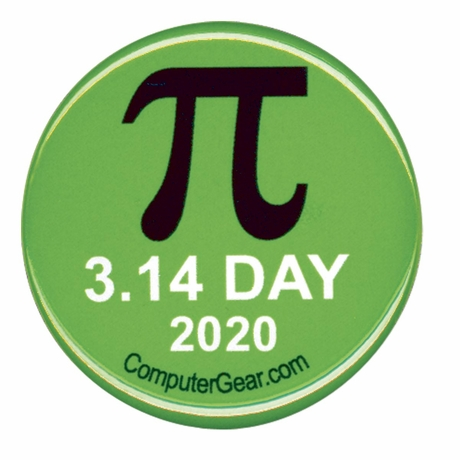 Pi Day 3.14 2020 Button - SOLD OUT