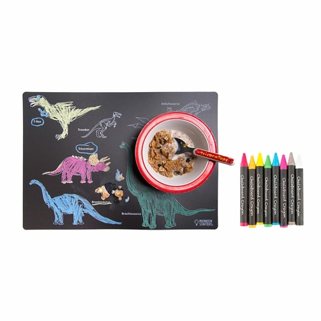 Fun Chalkboard placemat set