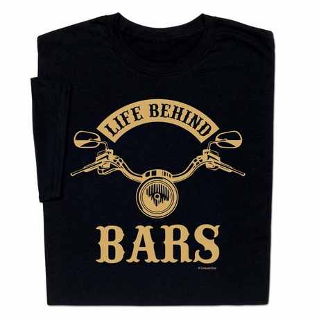 Funny Life Behind Bars T-shirt