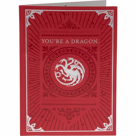 Game of Thrones Dragon Pop Up Card