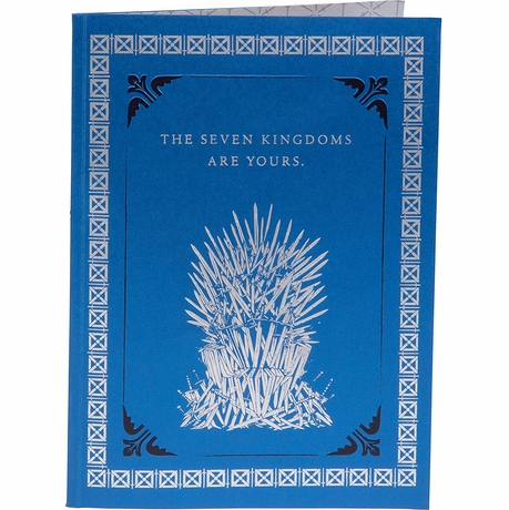 Game of Thrones Iron Throne Pop Up Card