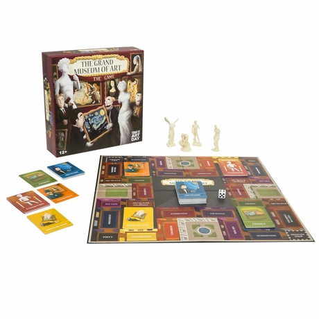 Grand Museum of Art Board Game Ages 12+