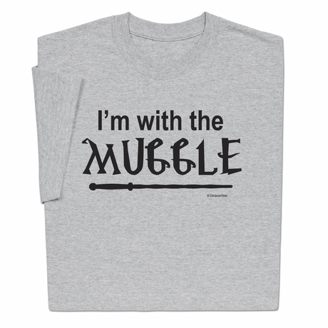 Harry Potter I am with the Muggle T-shirt