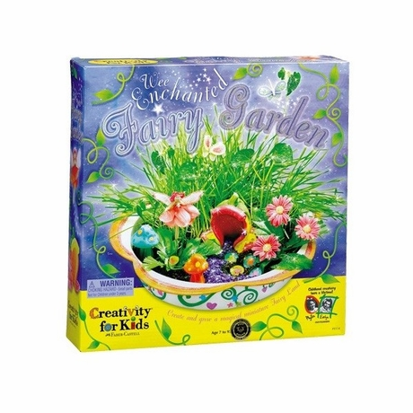 Kids Enchanted Fairy Garden Kit