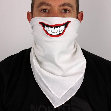 Joker Face Bandana Mask Funny