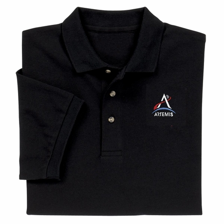 NASA Artemis Program Official Polo Shirt Men Women
