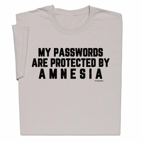 Passwords Amnesia T-shirt