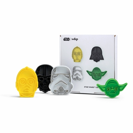 Home School Kids Activities Star Wars Cookie Cutter Set (4) Ages 3+