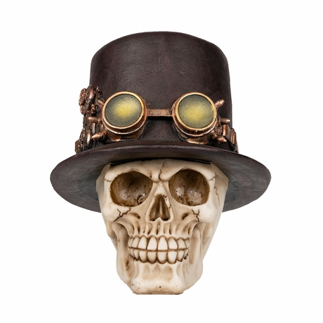 Steampunk Skull Figure