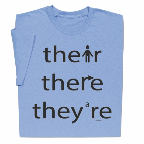 Their There They're T-shirt