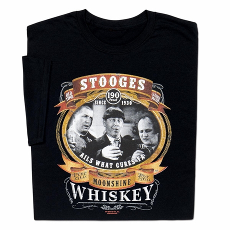Three Stooges Moonshine T-shirt