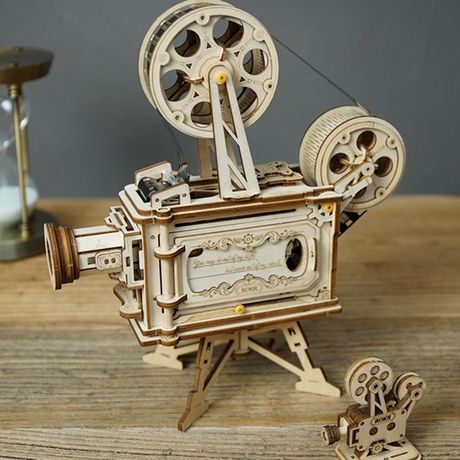 Wooden Film Projector