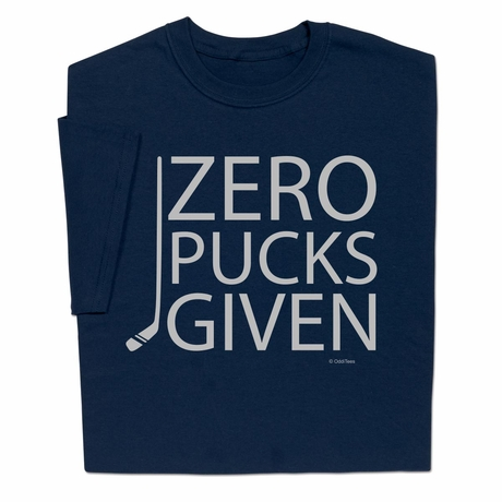 Zero Pucks Given T-shirt