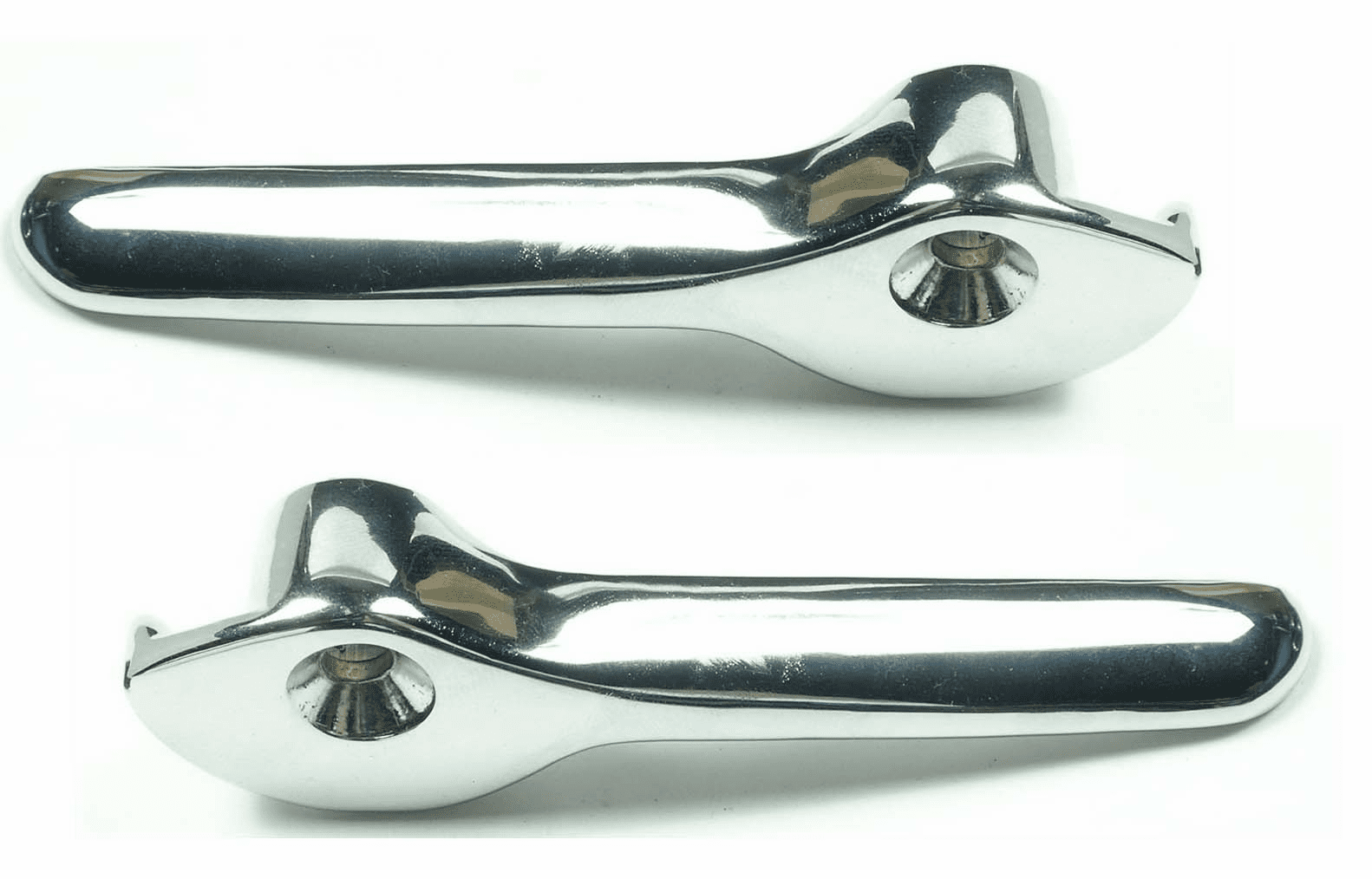 1955-1960 GM Convertible Top Latch handles, Pair
