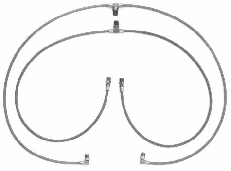 1964 1/2-2007 Ford Mustang & Cougar Convertible Top Hoses