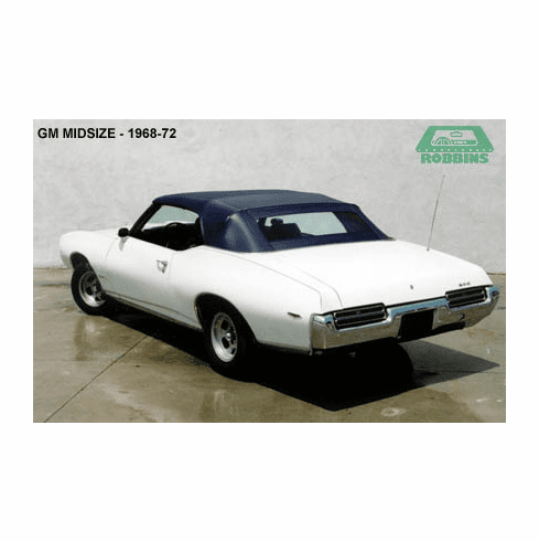 1968-1972 GM Mid Size Convertible Rear Glass Window