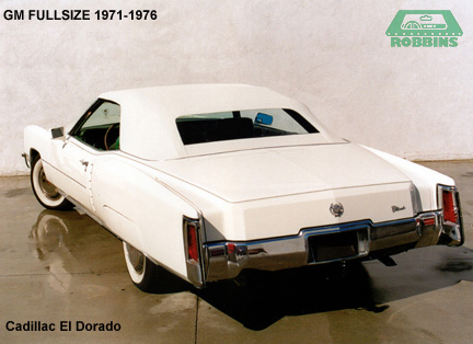 1971-1976 GM Full Size Convertible Rear Plastic Window