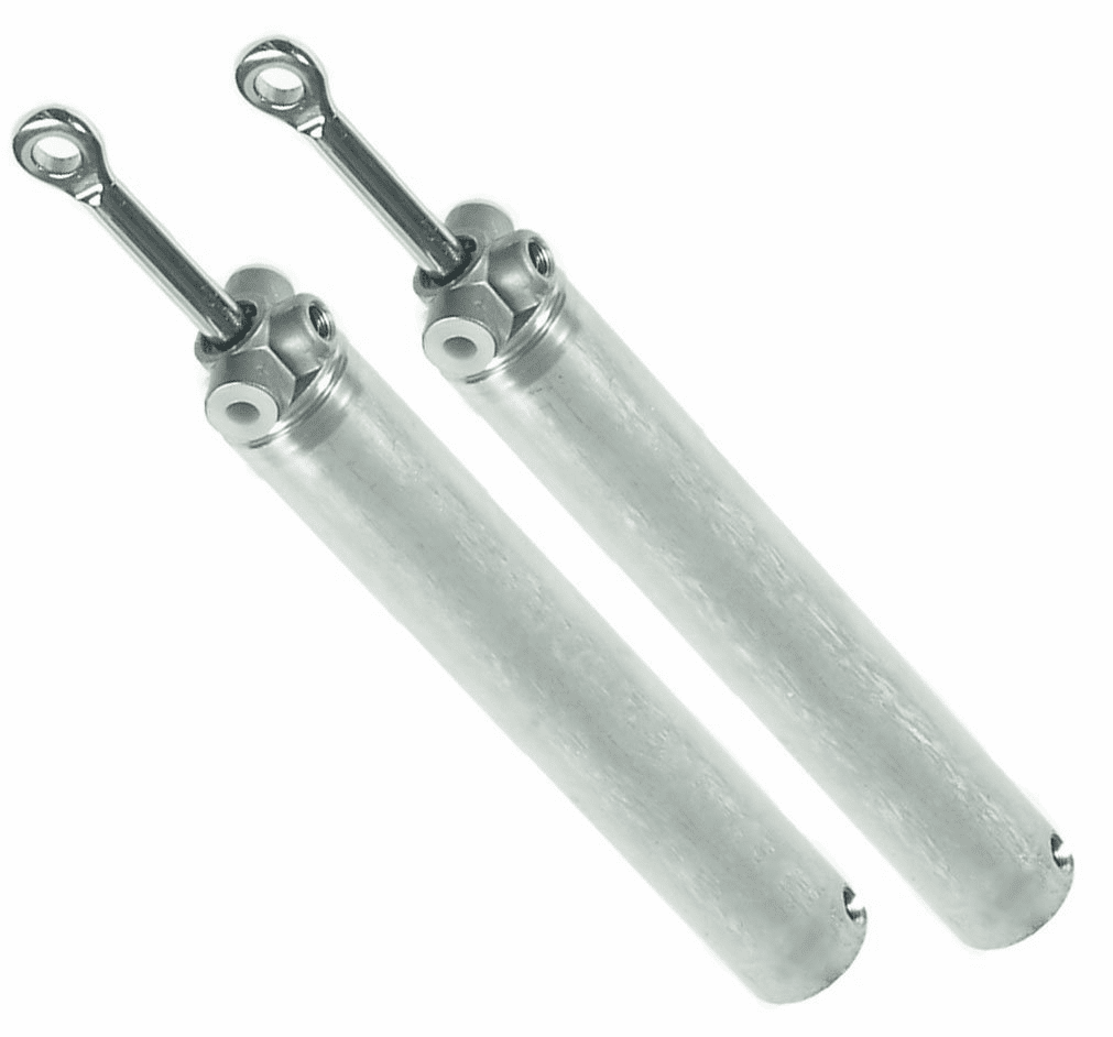 1998-2006 Chrysler Sebring Convertible Top Lift Cylinder Ram (1 Set 2 Cylinders)