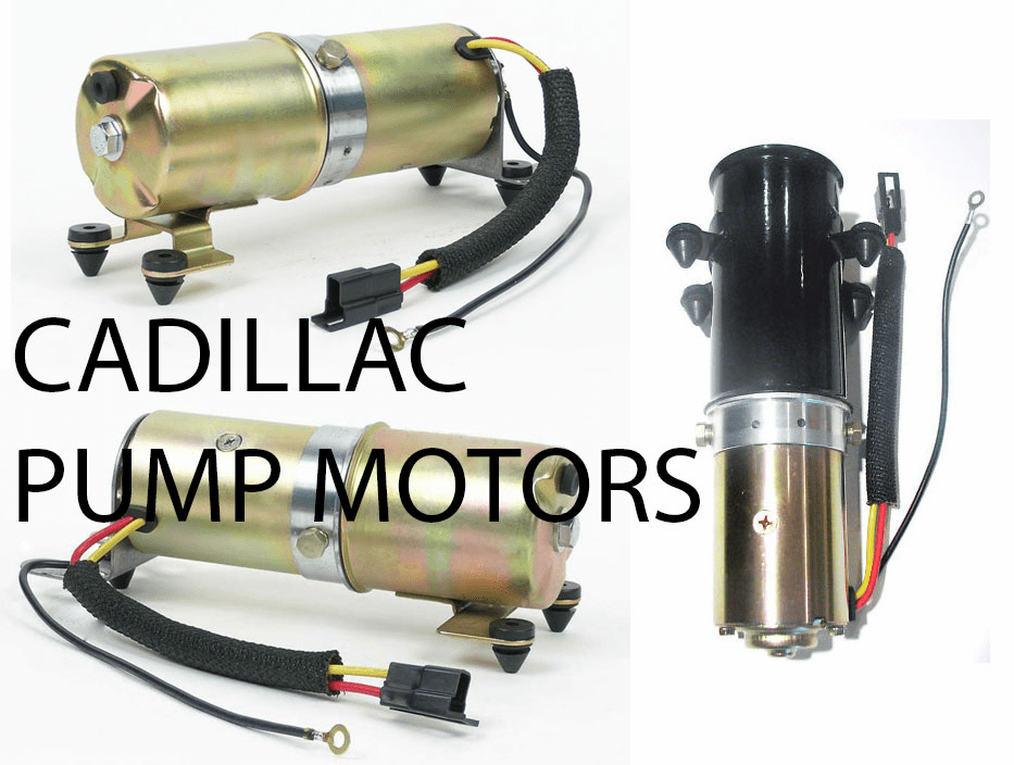 Cadillac Convertible Top Pump Motors