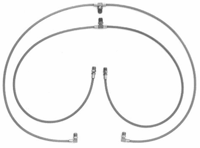 GM Convertible Top Hoses