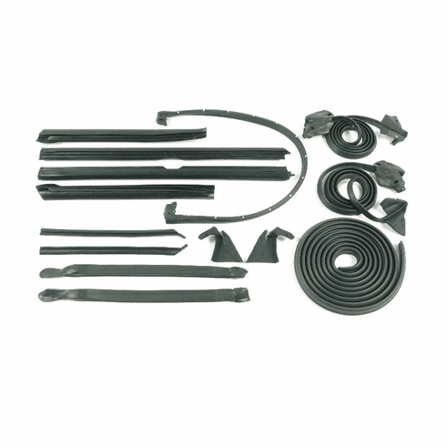 GM Full Size Convertible Complete Weatherstripping Set, 1971-1976 GM Full Size