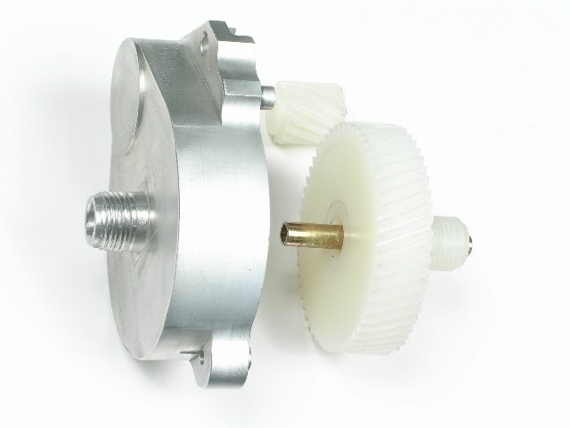 GM Full Size Convertible Top Gear Housing and Nylon Gears, New, 1971-1976 GM Full Size