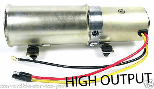 Lincoln High Output Convertible Top Pump Motor 1961 - 1967